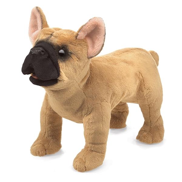 Full Body French Bulldog Puppet Folkmanis Puppets Stuffed Safari