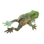 Full Body Jumping Frog Puppet by Folkmanis Puppets