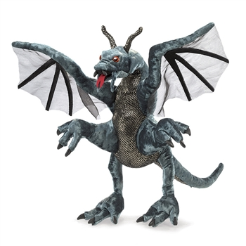 Full Body Jabberwock Puppet by Folkmanis Puppets