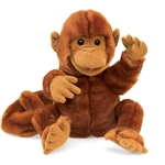 Full Body Classic Monkey Puppet by Folkmanis Puppets