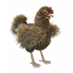 Full Body Brown Hen Puppet by Folkmanis Puppets