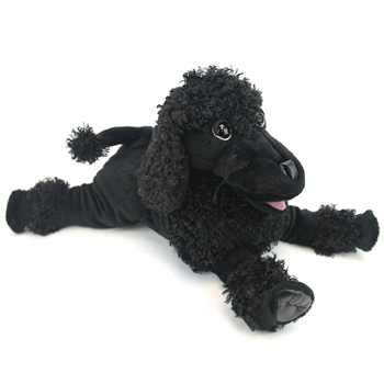Full Body Black Poodle Puppet by Folkmanis Puppets