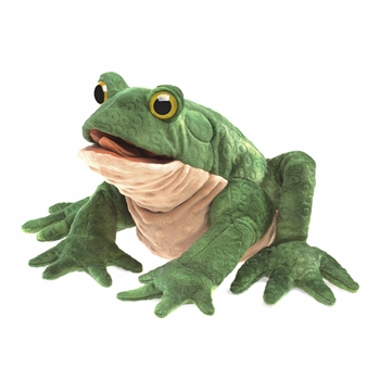 Full Body Toad Puppet by Folkmanis Puppets