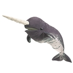 Full Body Narwhal Puppet by Folkmanis Puppets