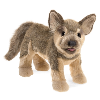 Full Body German Shepherd Puppy Puppet by Folkmanis Puppets