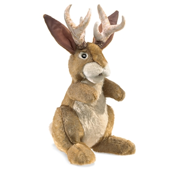 Full Body Jackalope Puppet by Folkmanis Puppets