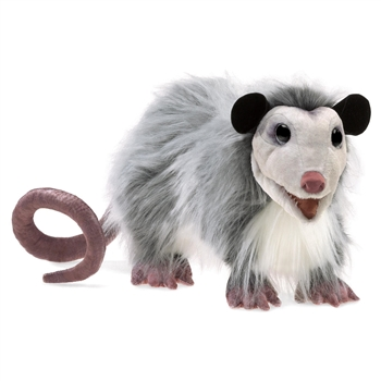 Full Body Opossum Puppet by Folkmanis Puppets