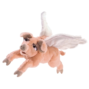 Full Body Flying Pig Puppet by Folkmanis Puppets