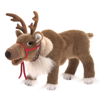 Full Body Reindeer Puppet by Folkmanis Puppets