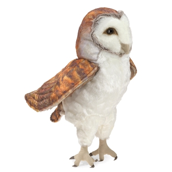 Full Body Barn Owl Puppet by Folkmanis Puppets