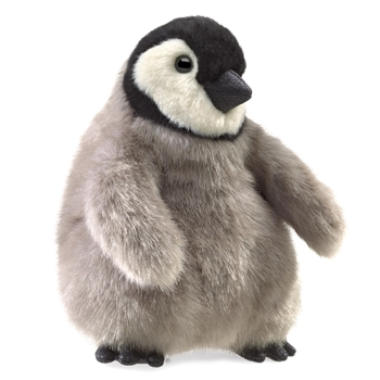 Full Body Baby Emperor Penguin Puppet by Folkmanis Puppets