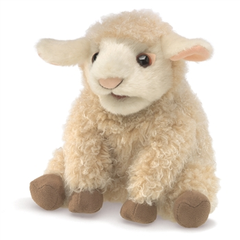 Full Body Small Lamb Puppet by Folkmanis Puppets