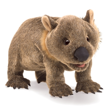 Full Body Wombat Puppet by Folkmanis Puppets