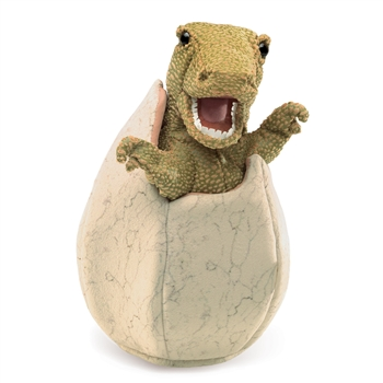 Dinosaur in an Egg Puppet by Folkmanis Puppets