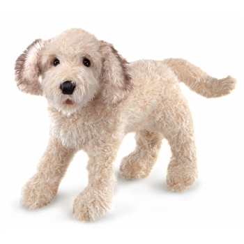 Full Body Labradoodle Puppet by Folkmanis Puppets