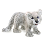 Full Body Snow Leopard Cub Puppet by Folkmanis Puppets