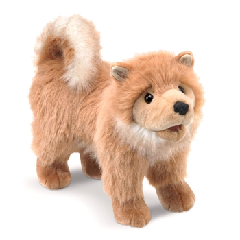 Full Body Pomeranian Puppy Puppet by Folkmanis Puppets