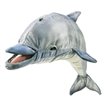 Full Body Whistling Dolphin Puppet by Folkmanis Puppets