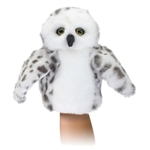 Little Snowy Owl Hand Puppet by Folkmanis Puppets