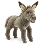 Full Body Baby Donkey Puppet by Folkmanis Puppets