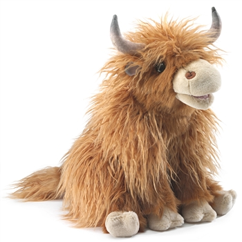 Full Body Highland Cow Puppet by Folkmanis Puppets