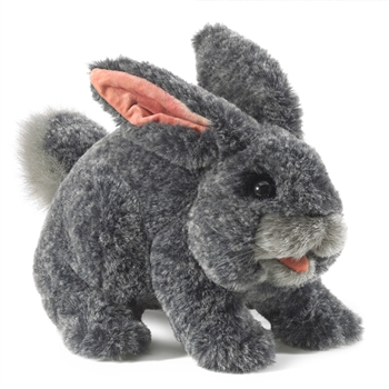 Full Body Gray Rabbit Puppet by Folkmanis Puppets