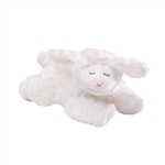 Winky the White Lamb Baby Rattle by Baby Gund