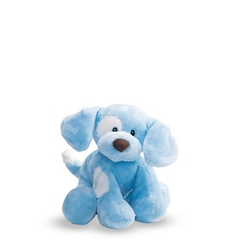 Barking Spunky the Blue Plush Puppy by Gund