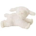 Winky the Little Plush Lamb Rattle by Gund