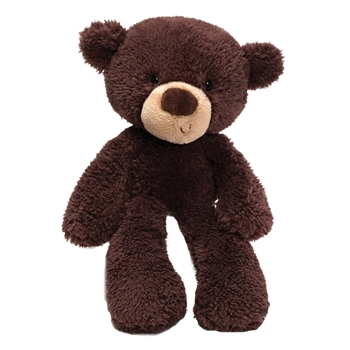 Fuzzy Chocolate Teddy Bear Stuffed Animal by Gund