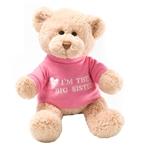 Im the Big Sister Teddy Bear with Embroidered Pink Shirt by Gund