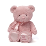 My First Teddy Pink Baby Safe Stuffed Bear by Gund