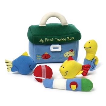 Plush My First Tackle Box Playset for Babies by Gund