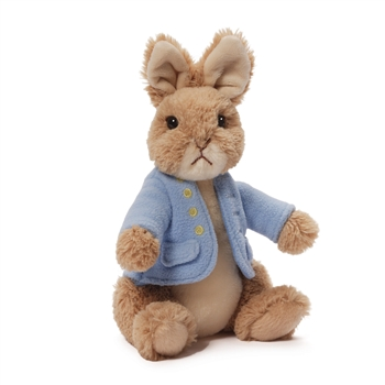 Medium Classic Peter Rabbit Stuffed Animal by Gund