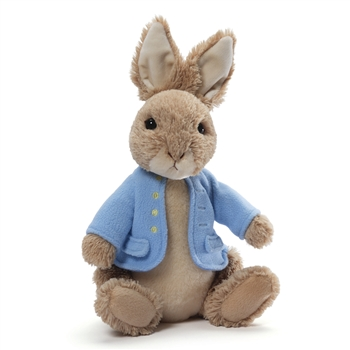Classic Peter Rabbit Stuffed Animal by Gund