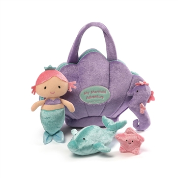 Plush My Mermaid Adventure Playset for Babies by Gund