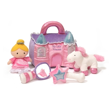 Plush My Princess Castle Playset for Babies by Gund
