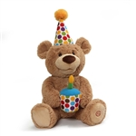 Happy Birthday Singing Teddy Bear by Gund