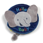 Flappy The Elephant Plush Baby Book by Gund