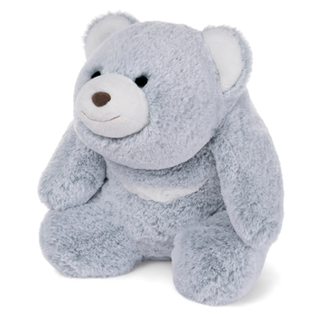 Snuffles The 13 Inch Two-Tone Ice Blue Plush Bear by Gund