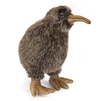 Handcrafted 8 Inch Lifelike Kiwi Stuffed Animal by Hansa