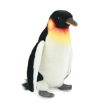 Handcrafted 12 Inch Lifelike Emperor Penguin Stuffed Animal by Hansa