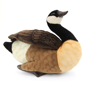 Lifelike Canada Goose Stuffed Animal by Hansa