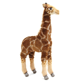 Handcrafted 20 Inch Lifelike Baby Giraffe Stuffed Animal by Hansa