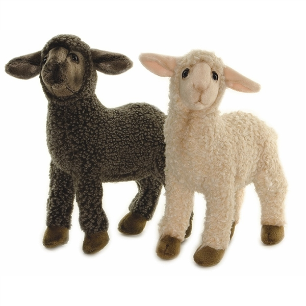 Lifelike Black Lamb Stuffed Animal By Hansa Hansa Stuffed Safari