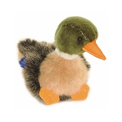 Lifelike Baby Mallard Duck Stuffed Animal 4 Inch Hansa Stuffed