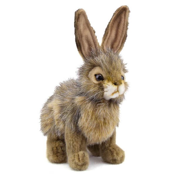 Handcrafted 9 Inch Lifelike Rabbit Stuffed Animal By Hansa At