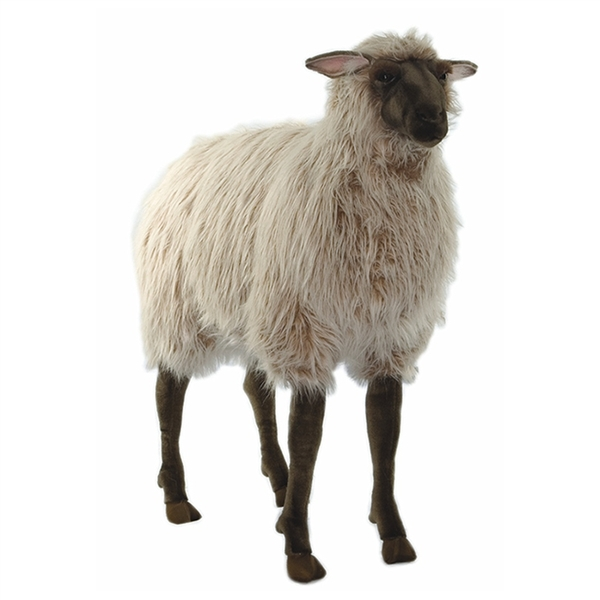 Life Size Ride On Ewe Stuffed Animal