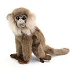 Lifelike Gray Leaf Monkey Stuffed Animal by Hansa