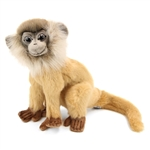 Lifelike Brown Leaf Monkey Stuffed Animal by Hansa